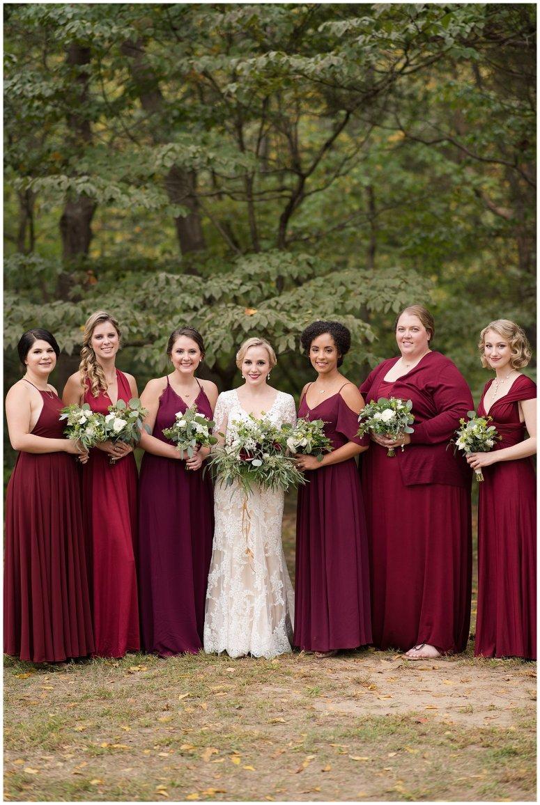 Red Wine Moss Green Fall Autumn Wedding Historic Jasmine Plantation Providence Forge Virginia Wedding Photographers_6508