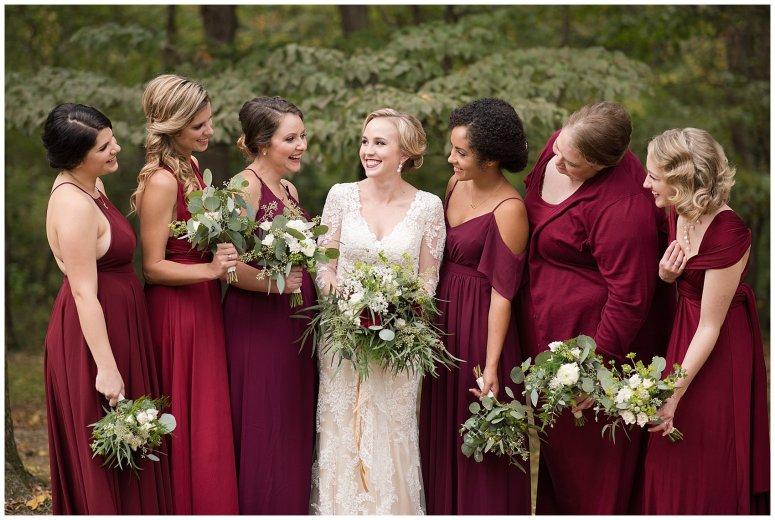 Red Wine Moss Green Fall Autumn Wedding Historic Jasmine Plantation Providence Forge Virginia Wedding Photographers_6510