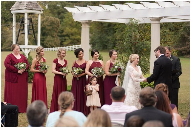 Red Wine Moss Green Fall Autumn Wedding Historic Jasmine Plantation Providence Forge Virginia Wedding Photographers_6549