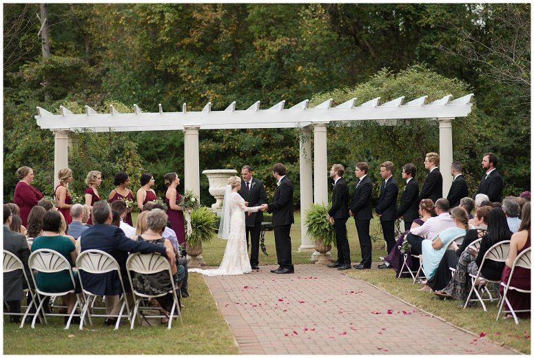 Red Wine Moss Green Fall Autumn Wedding Historic Jasmine Plantation Providence Forge Virginia Wedding Photographers_6552