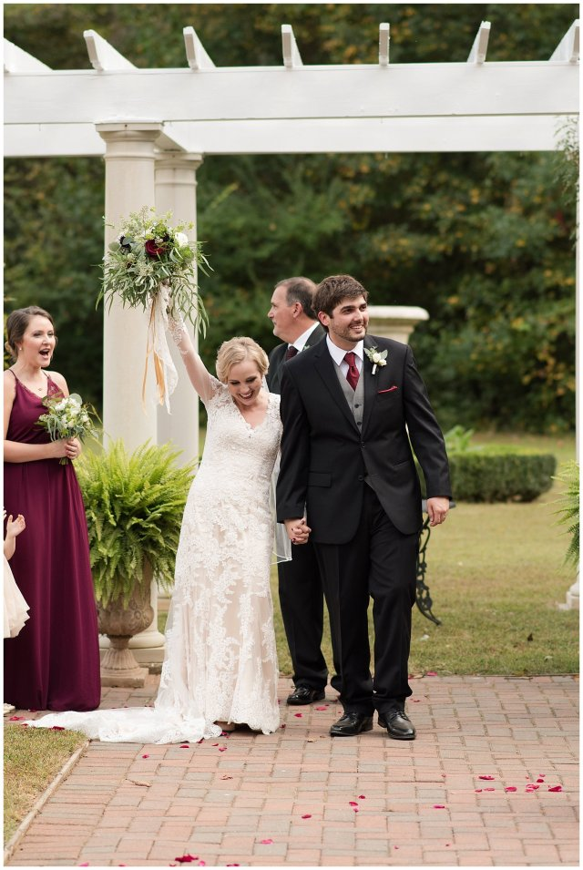 Red Wine Moss Green Fall Autumn Wedding Historic Jasmine Plantation Providence Forge Virginia Wedding Photographers_6568