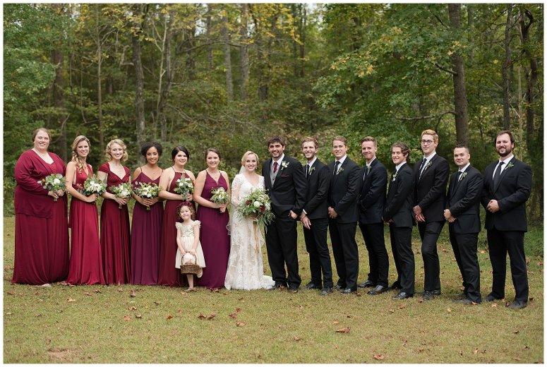 Red Wine Moss Green Fall Autumn Wedding Historic Jasmine Plantation Providence Forge Virginia Wedding Photographers_6571