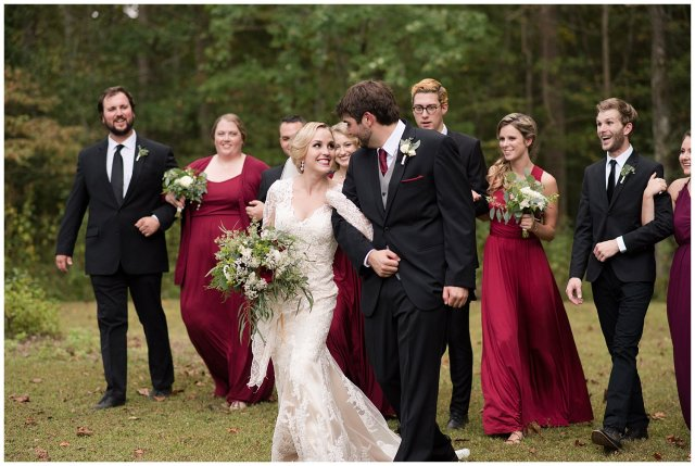 Red Wine Moss Green Fall Autumn Wedding Historic Jasmine Plantation Providence Forge Virginia Wedding Photographers_6572
