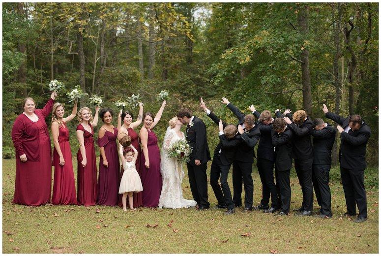 Red Wine Moss Green Fall Autumn Wedding Historic Jasmine Plantation Providence Forge Virginia Wedding Photographers_6573