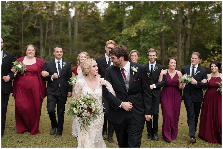 Red Wine Moss Green Fall Autumn Wedding Historic Jasmine Plantation Providence Forge Virginia Wedding Photographers_6574