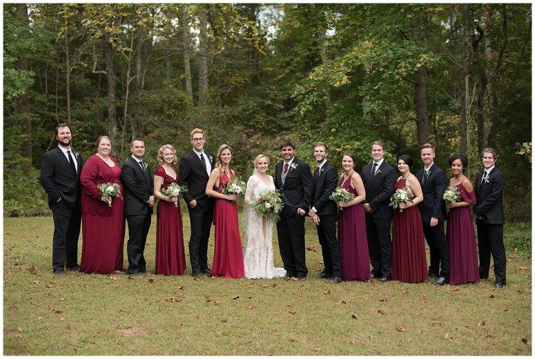 Red Wine Moss Green Fall Autumn Wedding Historic Jasmine Plantation Providence Forge Virginia Wedding Photographers_6575