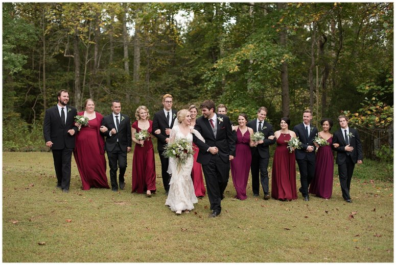 Red Wine Moss Green Fall Autumn Wedding Historic Jasmine Plantation Providence Forge Virginia Wedding Photographers_6576