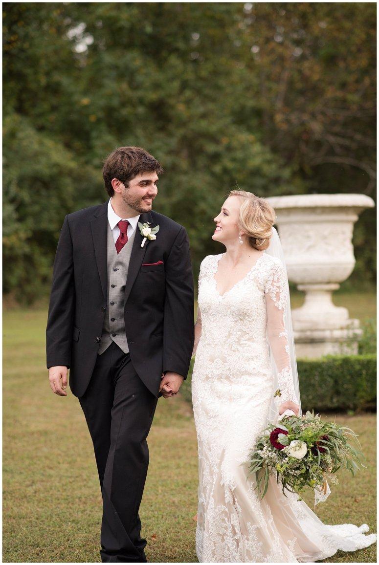 Red Wine Moss Green Fall Autumn Wedding Historic Jasmine Plantation Providence Forge Virginia Wedding Photographers_6580