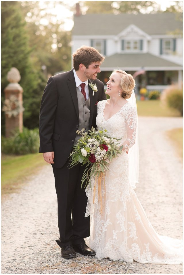 Red Wine Moss Green Fall Autumn Wedding Historic Jasmine Plantation Providence Forge Virginia Wedding Photographers_6606