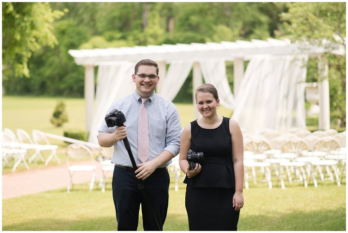 Behind Scenes Real Life Virginia Wedding Photographers Husband and Wife Team Hampton Roads_7399