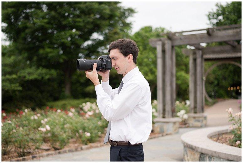 Behind Scenes Real Life Virginia Wedding Photographers Husband and Wife Team Hampton Roads_7403