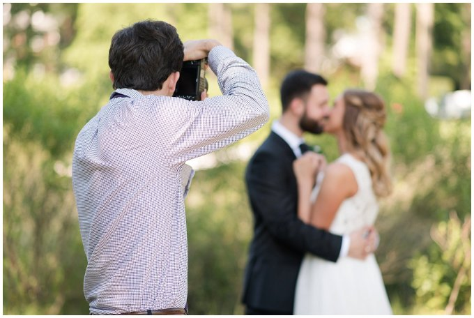 Behind Scenes Real Life Virginia Wedding Photographers Husband and Wife Team Hampton Roads_7405