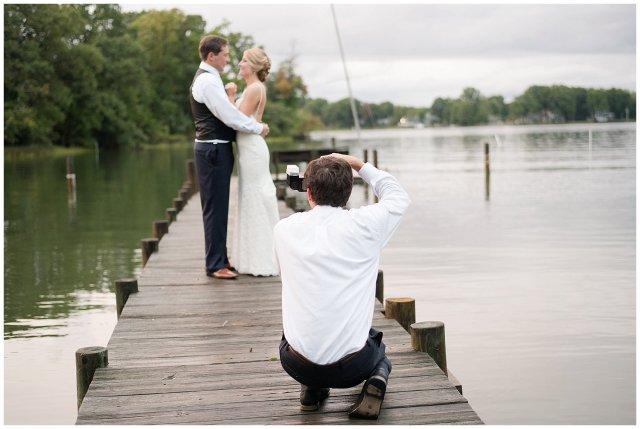 Behind Scenes Real Life Virginia Wedding Photographers Husband and Wife Team Hampton Roads_7414