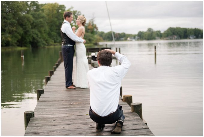 Behind Scenes Real Life Virginia Wedding Photographers Husband and Wife Team Hampton Roads_7414