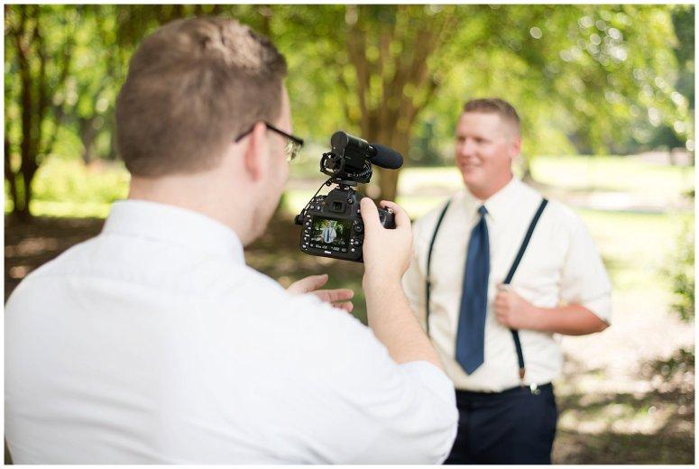 Behind Scenes Real Life Virginia Wedding Photographers Husband and Wife Team Hampton Roads_7416