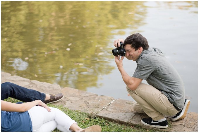 Behind Scenes Real Life Virginia Wedding Photographers Husband and Wife Team Hampton Roads_7426