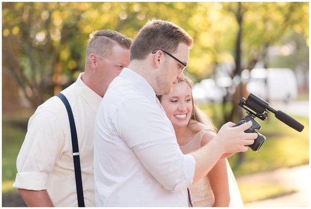Behind Scenes Real Life Virginia Wedding Photographers Husband and Wife Team Hampton Roads_7430