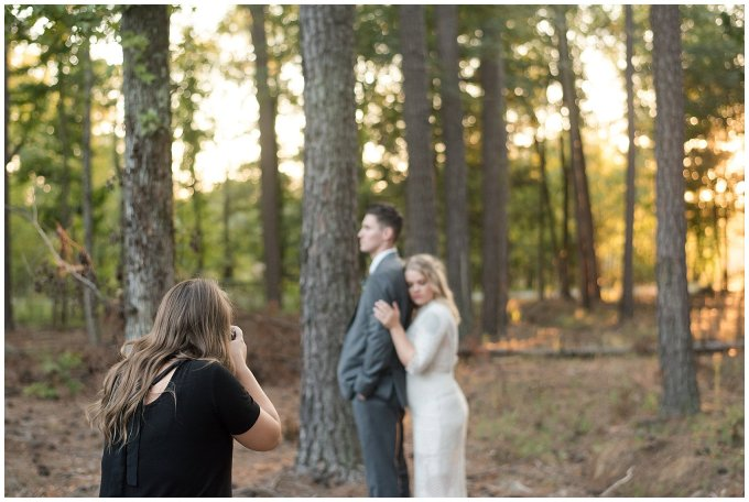 Behind Scenes Real Life Virginia Wedding Photographers Husband and Wife Team Hampton Roads_7433