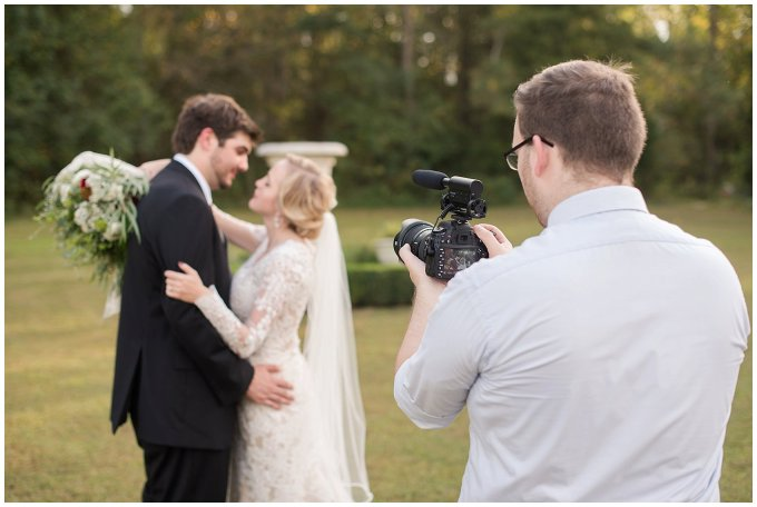 Behind Scenes Real Life Virginia Wedding Photographers Husband and Wife Team Hampton Roads_7437