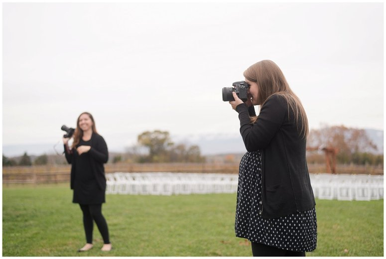 Behind Scenes Real Life Virginia Wedding Photographers Husband and Wife Team Hampton Roads_7448