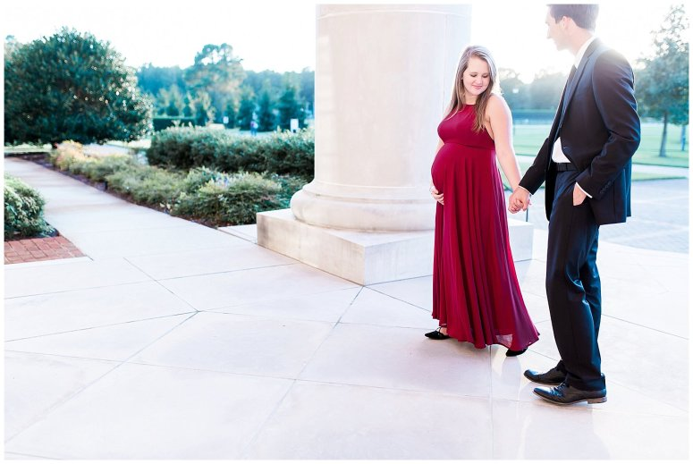 Classy Regent University Maternity Session Virginia Wedding Photographers_7373