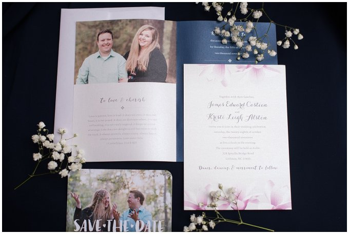 Navy Blue and Pink October Backyard North Carolina Wedding Virginia Wedding Photographers_6936