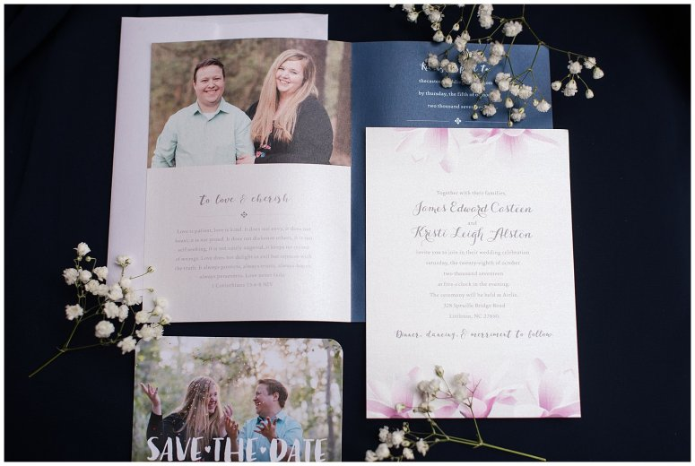 Navy Blue and Pink October Backyard North Carolina Wedding Virginia Wedding Photographers_6936