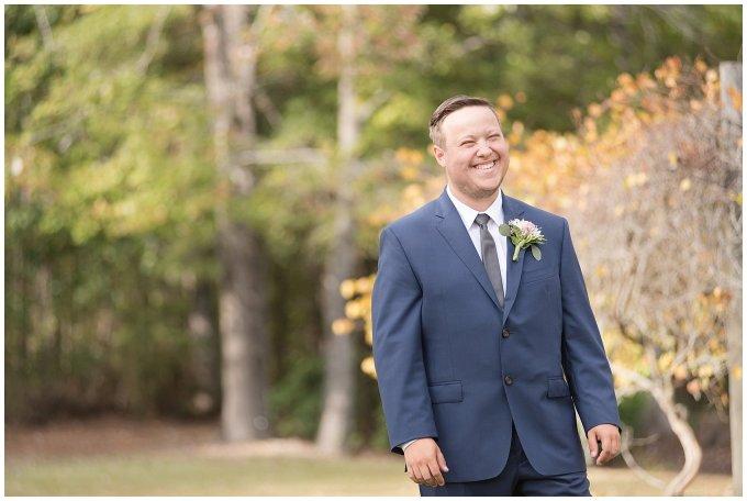 Navy Blue and Pink October Backyard North Carolina Wedding Virginia Wedding Photographers_6968