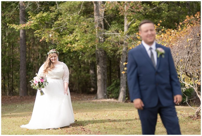 Navy Blue and Pink October Backyard North Carolina Wedding Virginia Wedding Photographers_6969