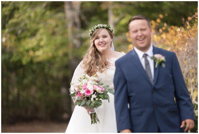 Navy Blue and Pink October Backyard North Carolina Wedding Virginia Wedding Photographers_6970