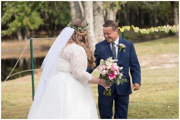 Navy Blue and Pink October Backyard North Carolina Wedding Virginia Wedding Photographers_6971