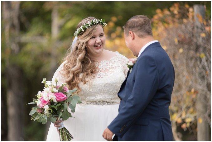 Navy Blue and Pink October Backyard North Carolina Wedding Virginia Wedding Photographers_6972