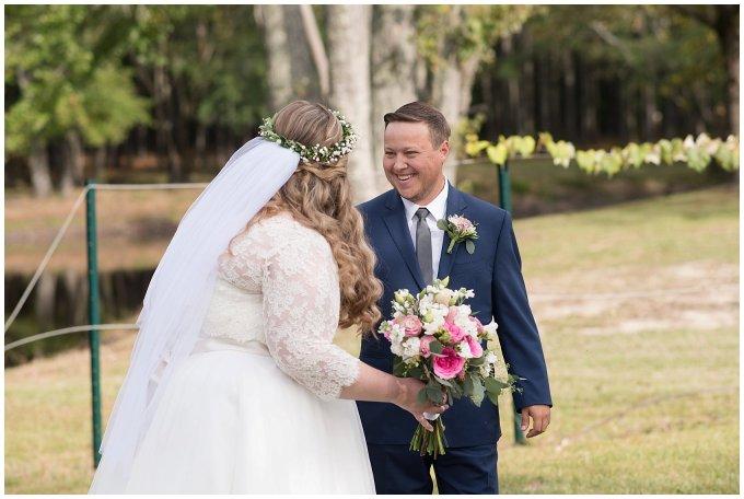 Navy Blue and Pink October Backyard North Carolina Wedding Virginia Wedding Photographers_6973