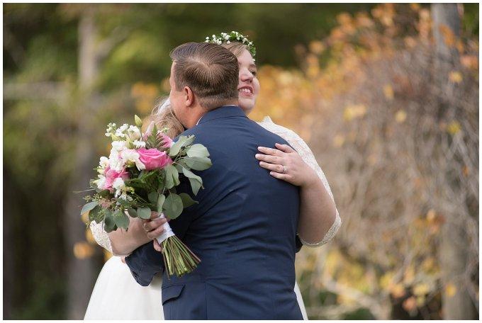 Navy Blue and Pink October Backyard North Carolina Wedding Virginia Wedding Photographers_6974