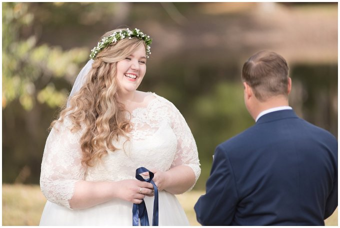 Navy Blue and Pink October Backyard North Carolina Wedding Virginia Wedding Photographers_6978