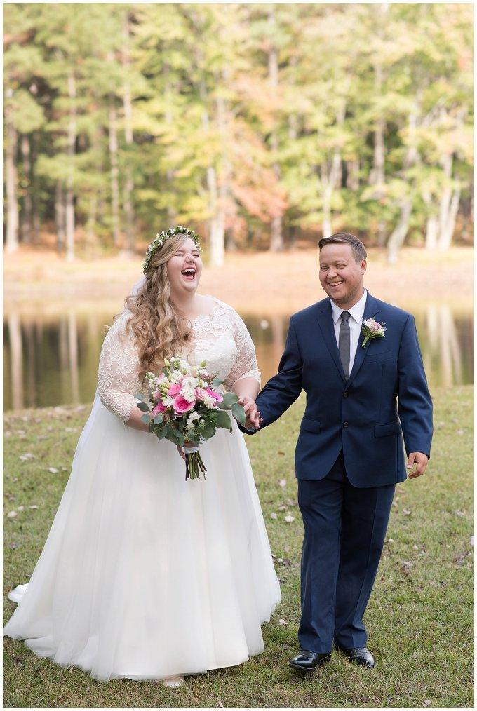 Navy Blue and Pink October Backyard North Carolina Wedding Virginia Wedding Photographers_6983