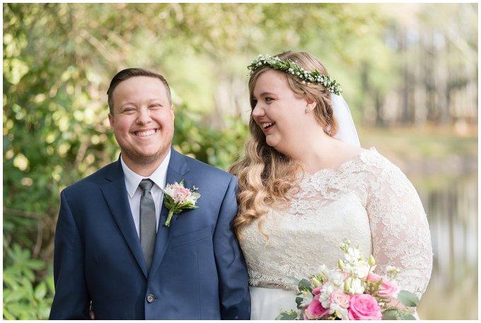 Navy Blue and Pink October Backyard North Carolina Wedding Virginia Wedding Photographers_6985