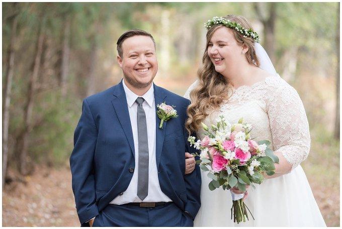 Navy Blue and Pink October Backyard North Carolina Wedding Virginia Wedding Photographers_6992