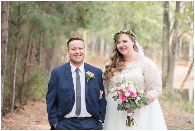 Navy Blue and Pink October Backyard North Carolina Wedding Virginia Wedding Photographers_6995