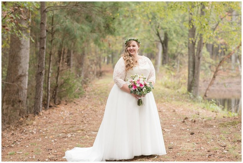 Navy Blue and Pink October Backyard North Carolina Wedding Virginia Wedding Photographers_6996
