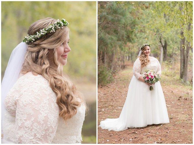 Navy Blue and Pink October Backyard North Carolina Wedding Virginia Wedding Photographers_6997