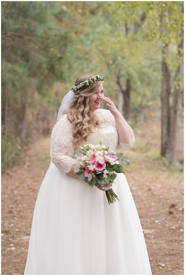 Navy Blue and Pink October Backyard North Carolina Wedding Virginia Wedding Photographers_6999