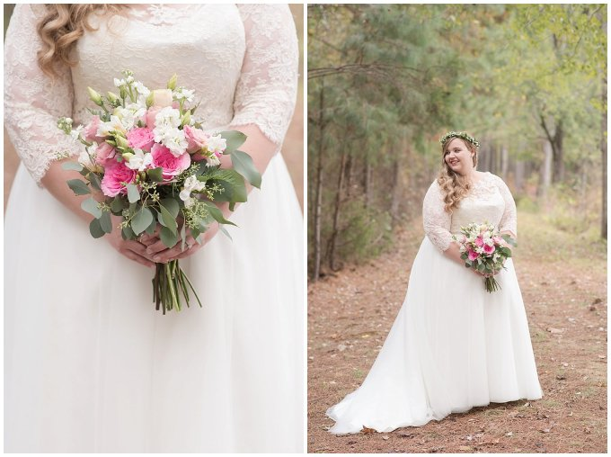 Navy Blue and Pink October Backyard North Carolina Wedding Virginia Wedding Photographers_7000