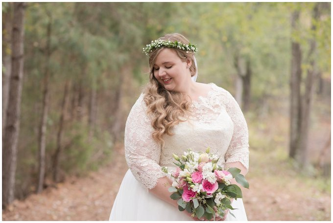 Navy Blue and Pink October Backyard North Carolina Wedding Virginia Wedding Photographers_7001