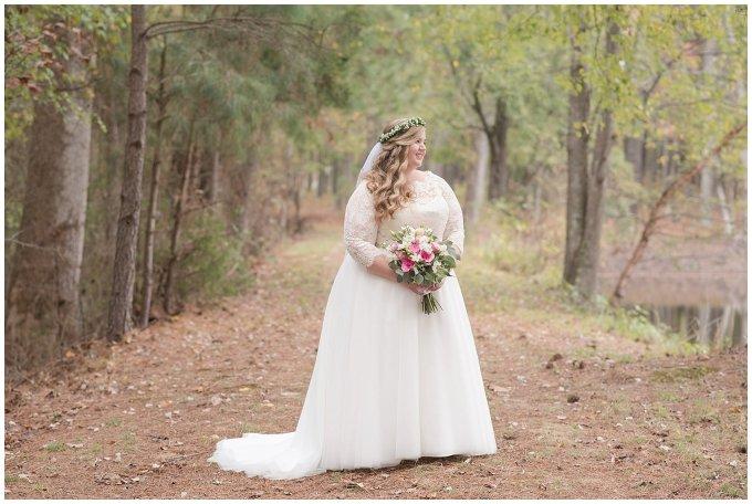 Navy Blue and Pink October Backyard North Carolina Wedding Virginia Wedding Photographers_7003