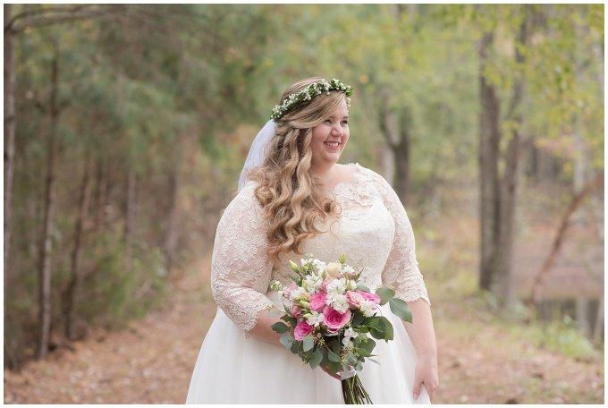 Navy Blue and Pink October Backyard North Carolina Wedding Virginia Wedding Photographers_7004