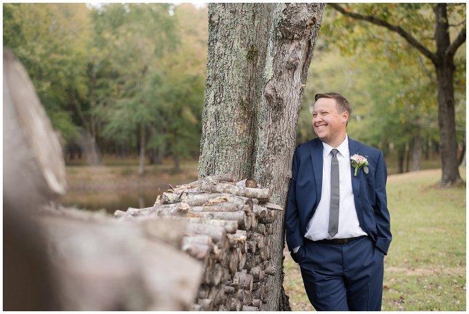 Navy Blue and Pink October Backyard North Carolina Wedding Virginia Wedding Photographers_7008