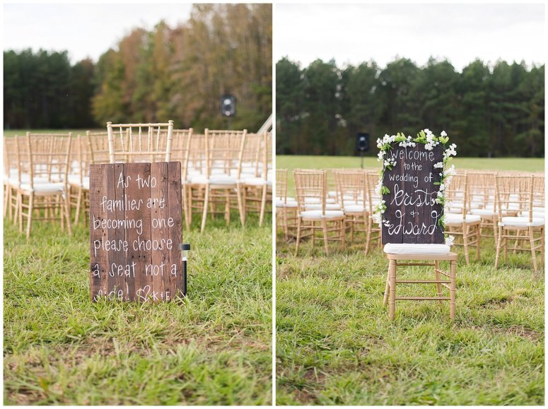 Navy Blue and Pink October Backyard North Carolina Wedding Virginia Wedding Photographers_7023