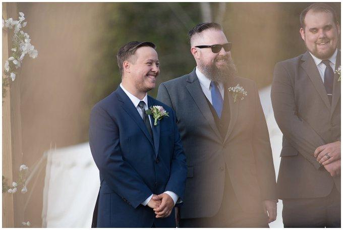 Navy Blue and Pink October Backyard North Carolina Wedding Virginia Wedding Photographers_7029