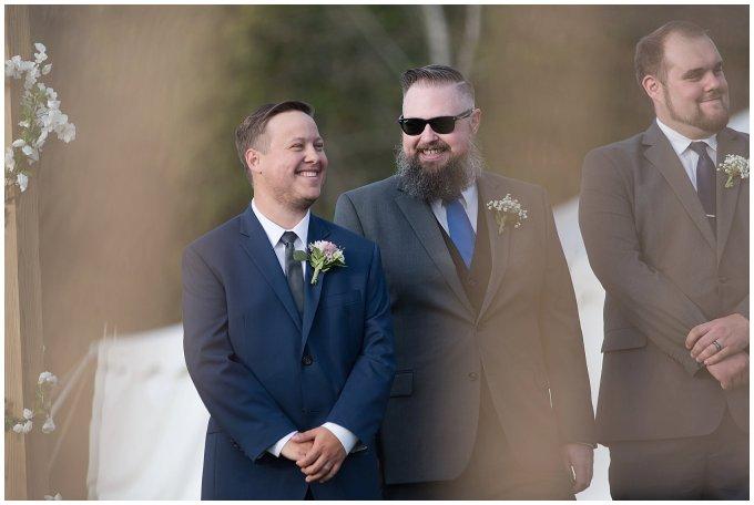 Navy Blue and Pink October Backyard North Carolina Wedding Virginia Wedding Photographers_7031